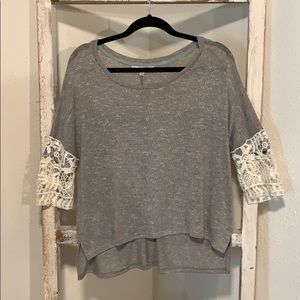 top with detailed sleeve